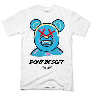 FLY - Don't Be Soft Blue V2 Tee-TEE-FLY STREET LIFE-WHITE-S-streetwear-from-FlyStreetLife