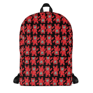 FLY - Don't Be Soft Red Bear Backpack - Fly Street Life