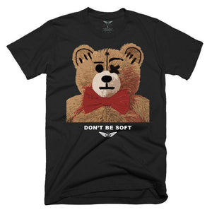 FLY - Don't Be Soft Tee-TEE-FLY STREET LIFE-Black-S-streetwear-from-FlyStreetLife
