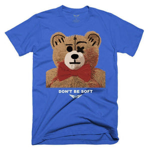FLY - Don't Be Soft Tee-TEE-FLY STREET LIFE-Royal Blue-S-streetwear-from-FlyStreetLife