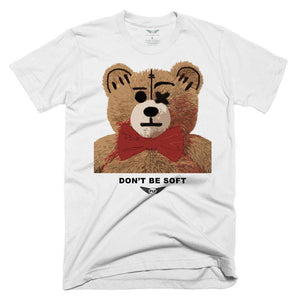 FLY - Don't Be Soft Tee-TEE-FLY STREET LIFE-White-S-streetwear-from-FlyStreetLife