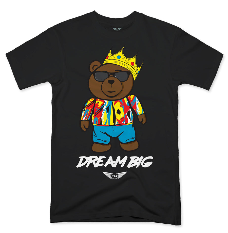 FLY- DREAM BIG BEAR TEE - Fly Street Life