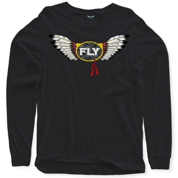 FLY - Dream Catcher Long Sleeve-MENS CLOTHING-FLY STREET LIFE-Cream-S-streetwear-from-FlyStreetLife