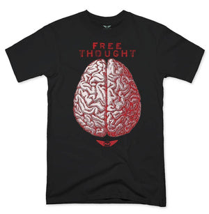 FLY - Free Thought Tee-MENS CLOTHING-FLY STREET LIFE-Black-S-streetwear-from-FlyStreetLife