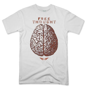 FLY - Free Thought Tee-MENS CLOTHING-FLY STREET LIFE-White-S-streetwear-from-FlyStreetLife