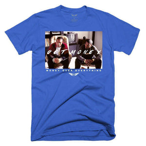 FLY - Get Money Movie Tee-MENS CLOTHING-FLY STREET LIFE-Royal Blue-S-streetwear-from-FlyStreetLife