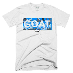 FLY - GOAT BLUE CAMO TEE-MENS CLOTHING-FLY STREET LIFE-streetwear-FlyStreetLife