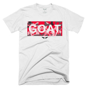 FLY - Goat Red Camo Tee-MENS CLOTHING-FLY STREET LIFE-White-S-streetwear-from-FlyStreetLife