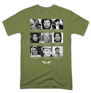 FLY - Greatest Gangsters Tee-MENS CLOTHING-FLY STREET LIFE-Military Green-S-streetwear-from-FlyStreetLife