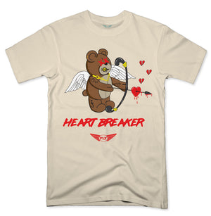 FLY - Heart Breaker Bear Tee-TEE-Fly Street Life-streetwear-from-FlyStreetLife