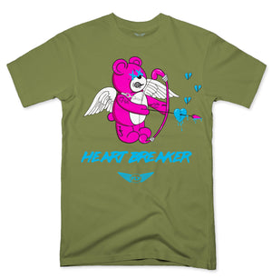 FLY - HEART BREAKER PINK BEAR TEE - Fly Street Life