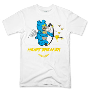 FLY- HEART BREAKER TURQUOISE BEAR TEE - Fly Street Life