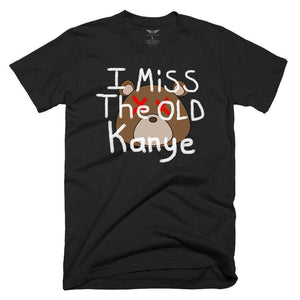 FLY - I Miss The Old Kanye Tee-MENS CLOTHING-FLY STREET LIFE-Black-S-streetwear-from-FlyStreetLife