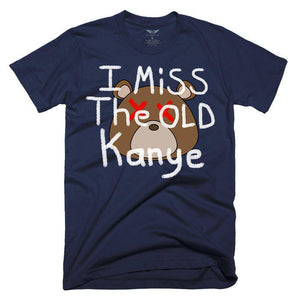 FLY - I Miss The Old Kanye Tee-MENS CLOTHING-FLY STREET LIFE-Navy-S-streetwear-from-FlyStreetLife