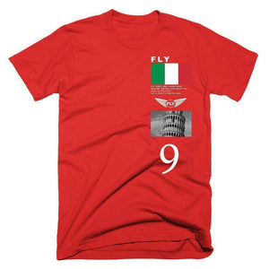 FLY - Italy Tee-MENS CLOTHING-FLY STREET LIFE-Red-S-streetwear-from-FlyStreetLife
