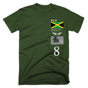FLY - Jamaica Tee-MENS CLOTHING-FLY STREET LIFE-Military Green-S-streetwear-from-FlyStreetLife
