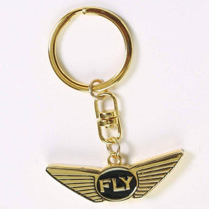 FLY - Key Chain-ACCESSORIES-FLY STREET LIFE-Gold/Black-ONE SIZE-streetwear-from-FlyStreetLife
