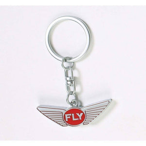 FLY - Key Chain-ACCESSORIES-FLY STREET LIFE-Silver/Red-ONE SIZE-streetwear-from-FlyStreetLife