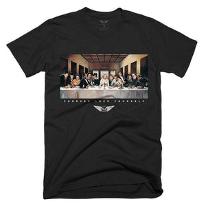 FLY - Last Supper Tee-MENS CLOTHING-FLY STREET LIFE-Black-S-streetwear-from-FlyStreetLife