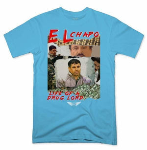 FLY - Life Of A Drug Lord Tee-MENS CLOTHING-FLY STREET LIFE-Pacific Blue-S-streetwear-from-FlyStreetLife