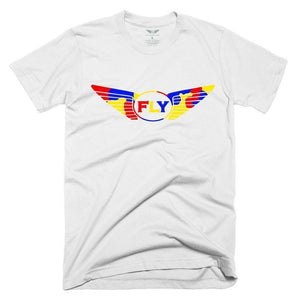 FLY - Logo Yellow Camo Tee-MENS CLOTHING-FLY STREET LIFE-White-S-streetwear-from-FlyStreetLife