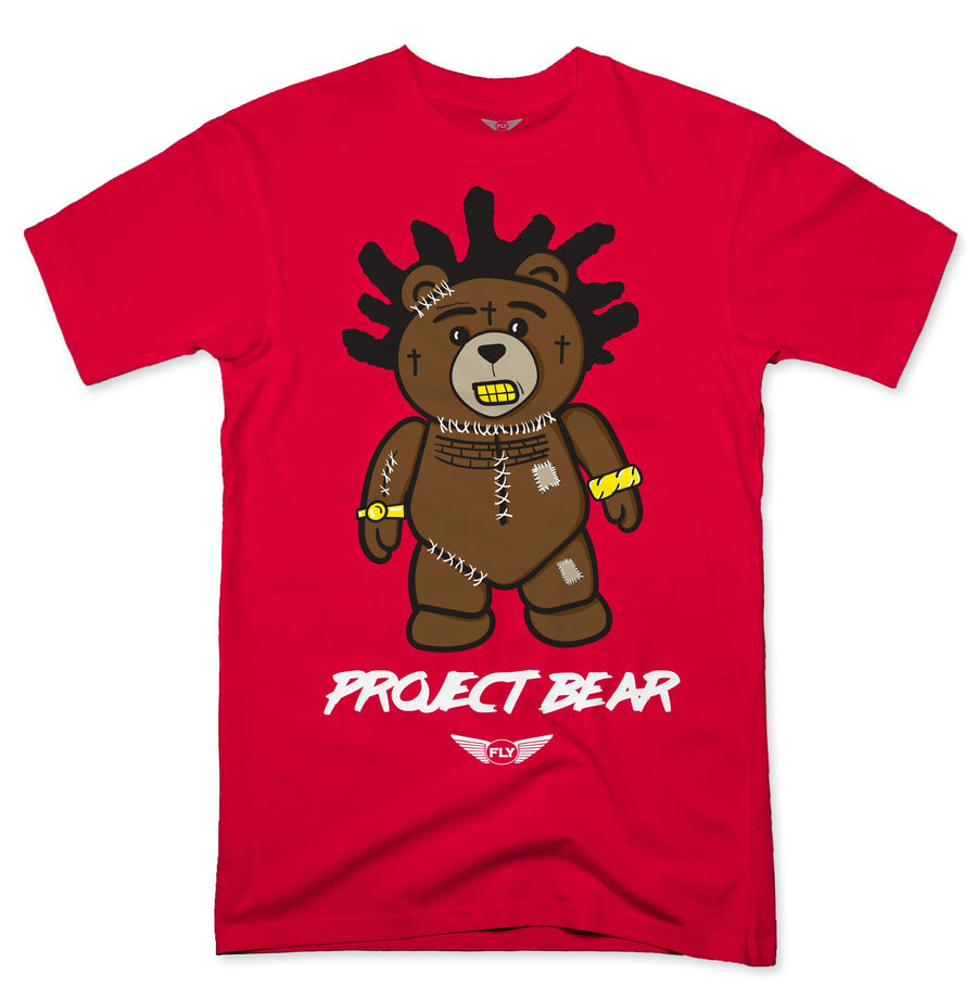 FLY - Project Bear Tee-TEE-FLY STREET LIFE-ORANGE-S-streetwear-from-FlyStreetLife