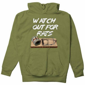 FLY - Rat Trap Hoodie-MENS CLOTHING-FLY STREET LIFE-Military Green-S-streetwear-from-FlyStreetLife