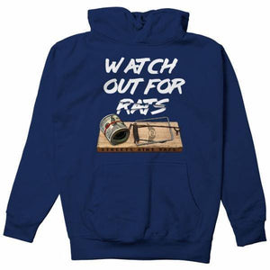 FLY - Rat Trap Hoodie-MENS CLOTHING-FLY STREET LIFE-Navy-S-streetwear-from-FlyStreetLife