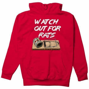 FLY - Rat Trap Hoodie-MENS CLOTHING-FLY STREET LIFE-Red-S-streetwear-from-FlyStreetLife