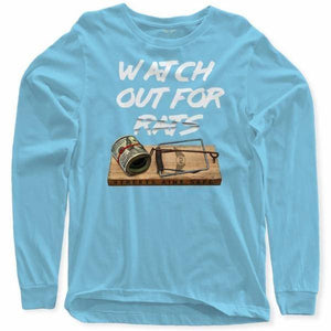 FLY - Rat Trap Long Sleeve-MENS CLOTHING-FLY STREET LIFE-Light Blue-S-streetwear-from-FlyStreetLife