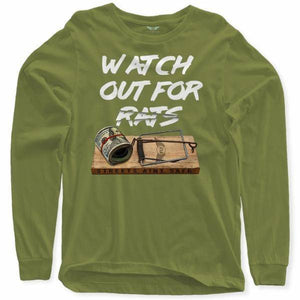 FLY - Rat Trap Long Sleeve-MENS CLOTHING-FLY STREET LIFE-Military Green-S-streetwear-from-FlyStreetLife