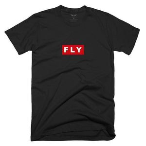 FLY - Red Box Tee-MENS CLOTHING-FLY STREET LIFE-Streetwear