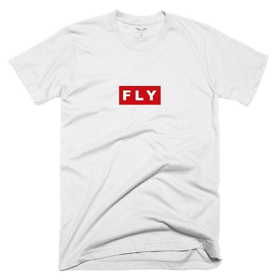 FLY - Red Box Tee-MENS CLOTHING-FLY STREET LIFE-Black-XS-streetwear-from-FlyStreetLife