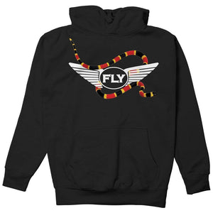 FLY - Snake and Logo Hoodie-MENS CLOTHING-FLY STREET LIFE-Streetwear