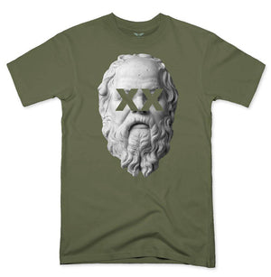 FLY - Socrates Tee-MENS CLOTHING-FLY STREET LIFE-Military Green-S-streetwear-from-FlyStreetLife