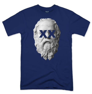 FLY - Socrates Tee-MENS CLOTHING-FLY STREET LIFE-Navy-S-streetwear-from-FlyStreetLife