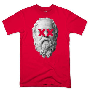 FLY - Socrates Tee-MENS CLOTHING-FLY STREET LIFE-Red-S-streetwear-from-FlyStreetLife