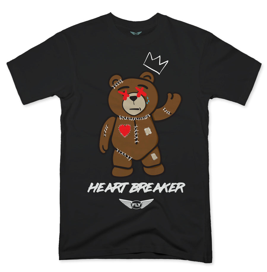 FLY - Stitches Bear Tee-TEE-Fly Street Life-Streetwear