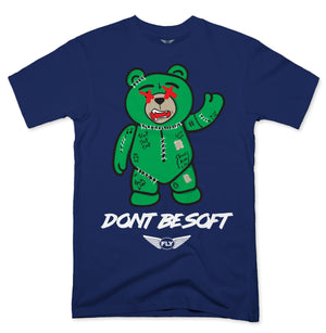 FLY - Stitches Green Bear Tee - Fly Street Life
