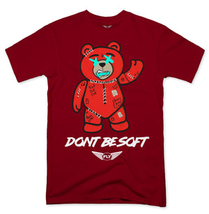 FLY - Stitches Red Bear Tee - Fly Street Life