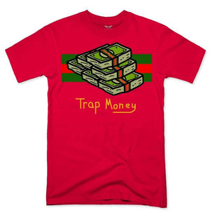 FLY - Trap Money Tee-MENS CLOTHING-FLY STREET LIFE-Red-S-streetwear-from-FlyStreetLife