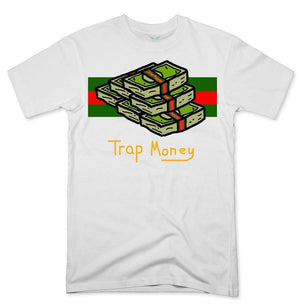 FLY - Trap Money Tee-MENS CLOTHING-FLY STREET LIFE-White-S-streetwear-from-FlyStreetLife