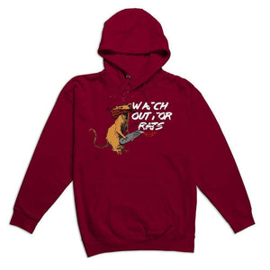 FLY - Watch Out For Rats Hoodie-MENS CLOTHING-FLY STREET LIFE-Streetwear