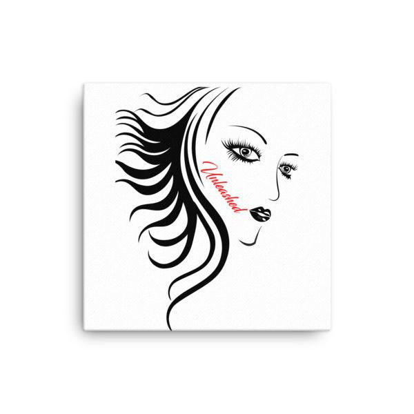 Unleashed Woman Canvas Art