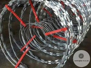 Electric Razor Wire - Security Barrier