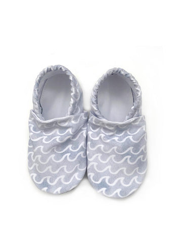 Blue Waves Swim Booties