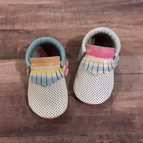 Summer Stripes Breathable Moccasins