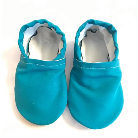 Teal Color Changing Swim Booties