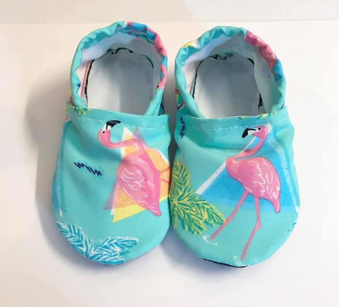 Flamingo Swim Booties