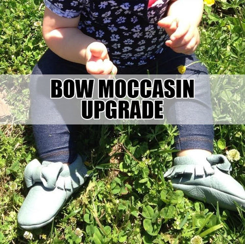 ADD ON- BOW MOCCASIN UPGRADE